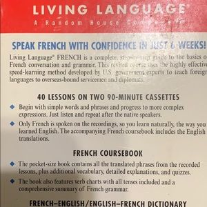 Learn to speak French! Complete course!!